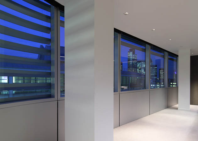 London offices - Ceiling solutions by Kreon